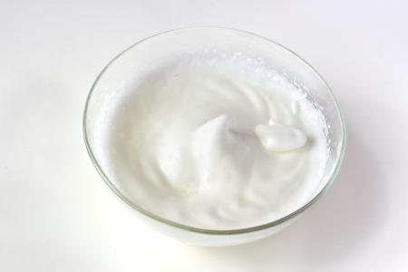 Beaten eggs whites  meringue pastry