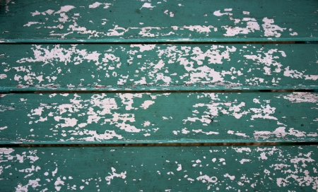 Blue-green painted rustic wooden texture.