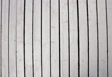 White wooden texture, old road in Saint Petersburg. Stock Photo