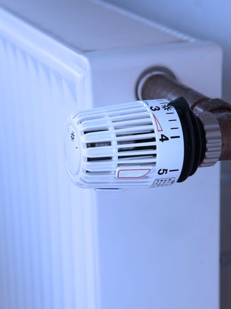 justify: A standard heater like it is used in most homes.