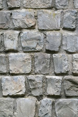 massy: A nice texture of a massive stone wall. Useful as background. Stock Photo