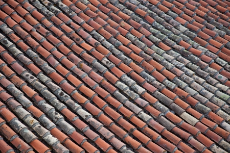 provencal: Traditional provencal roofing tiles