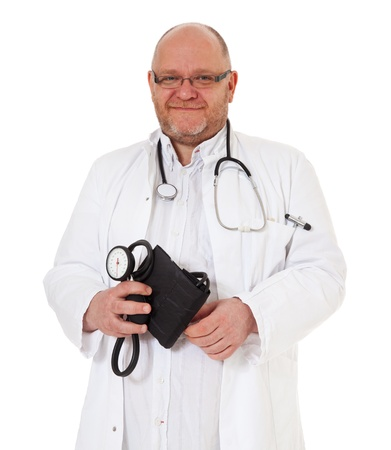 Portrait of an experienced doctor photo
