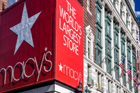 macys: Famous Macys store in New York City Editorial