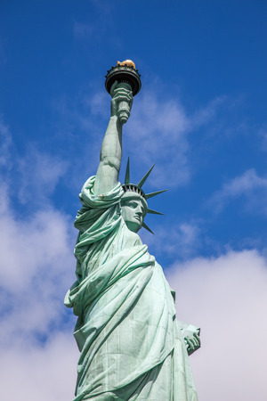 symbolical: Statue of Liberty in New York City