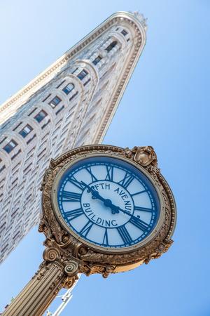 herald: Flatiron Building at Herald Square in Manhattan