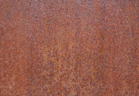 Rusty metal plate background texture