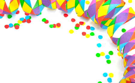 fasching: Party decoration background