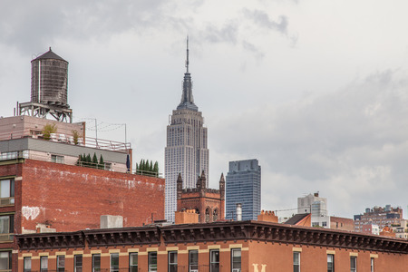 new building: Empire State Building in New York City