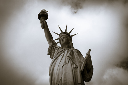 liberty island: Statue of Liberty in New York City