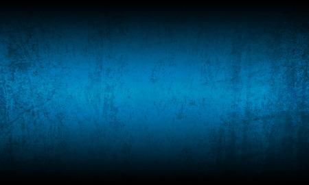 Blauwe zwarte grunge achtergrond textuur Stockfoto