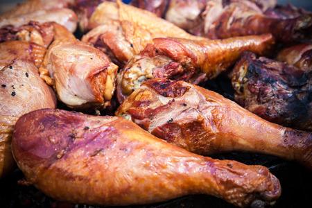 fine legs: Fine grilled turkey legs