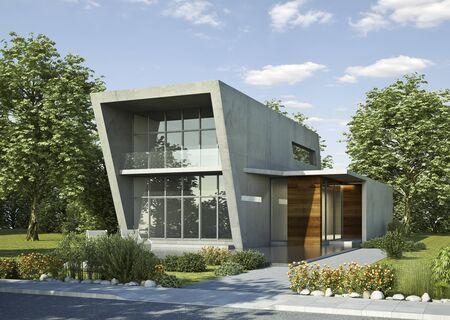 Concrete house modern