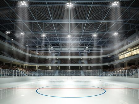 Ice hockey arena Stockfoto