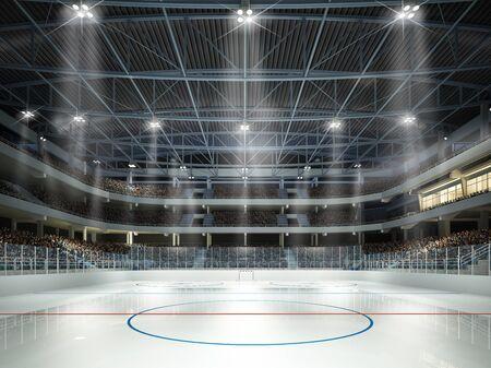 Ice hockey arena Imagens