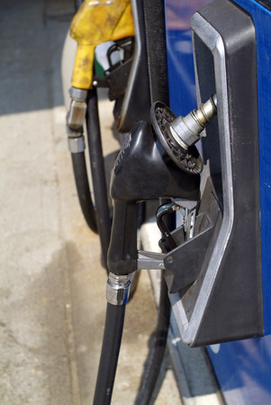 gasoline refueling station Stock Photo - 1463835