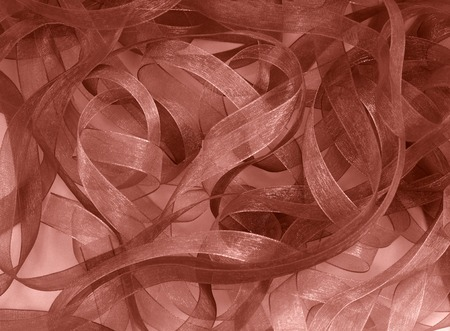 sepia tone ribbons background or border