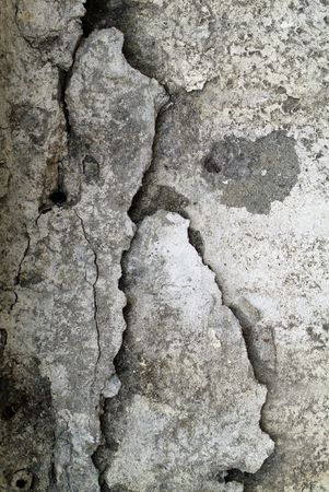 Grunge cracked concrete background photo