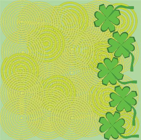 Saint Patrick's day background illustration image Stock Vector - 2649128