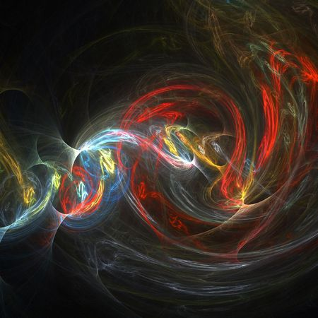 Abstract multi-colored background image