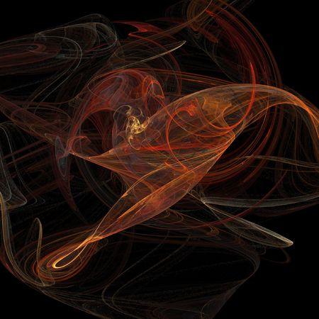 flowing galactic twist background illustration illustration
