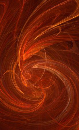 galactic: orange galactic background pattern