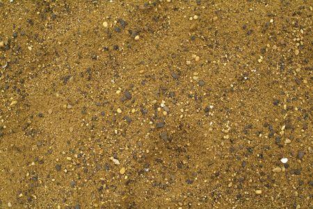 Rocky Sand Beach Background Pattern Reklamní fotografie