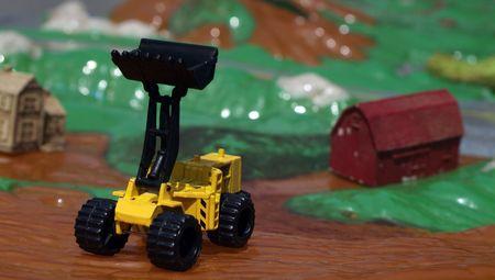 front end: Toy Front End Loader