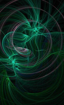 wisp: groene sliert achtergrondafbeelding