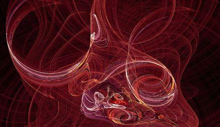 twist: magenta red twist background graphic