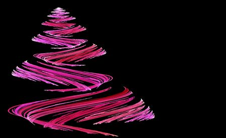 tree: Abstract Pink Christmas tree