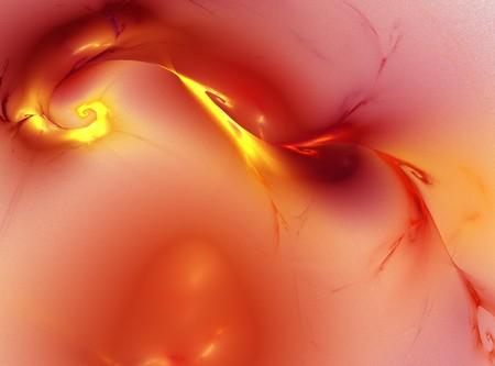 graphical: spiral firey red orange energy spark