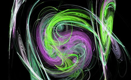 chaotic abstract design
