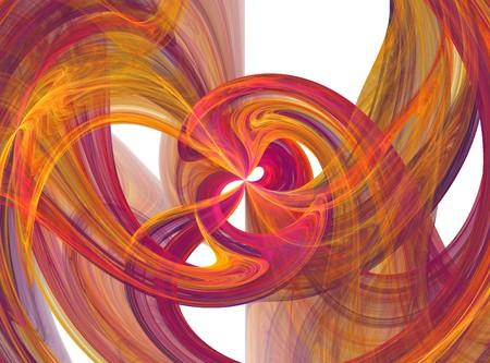 Flowing colorful liquid burst Stock Photo - 4237538