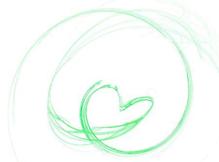 heart sketch design Stockfoto