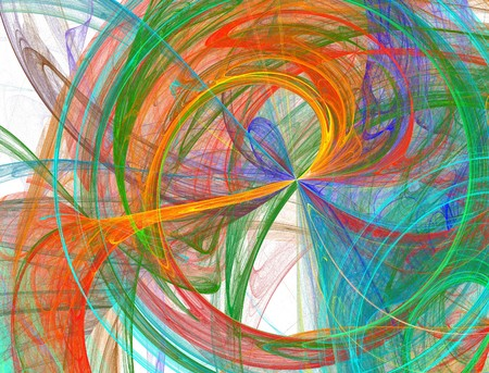 bursting abstract rainbow background design Stock Photo - 4491200