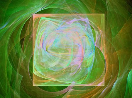 glows: abstract yellow glowing square design image Stock Photo