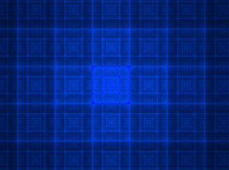 vibrant bright blue glowing square texture background Stock Photo - 5369765