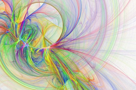 Abstract fun cheerful artsy rainbow backgrounds design  Stock Photo - 7090722