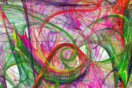 arty: abstract colorful swirl background image Stock Photo