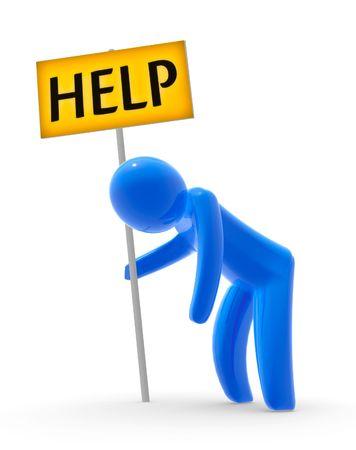 Help Stock Photo - 4170794