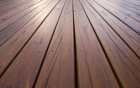 Decking de madera