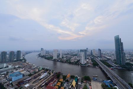 viewport: Bangkok View Day Stock Photo