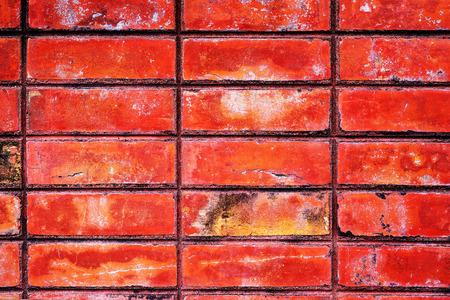 orange texture: Brick Orange Texture Material