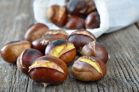 Roasted chestnuts Stock Photo - 11357435