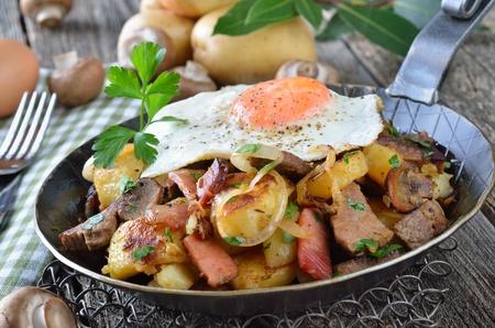 Tyrolské misky (Groestl)