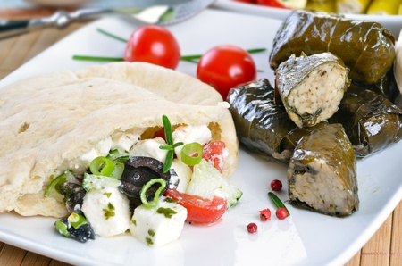 Cold greek appetizers