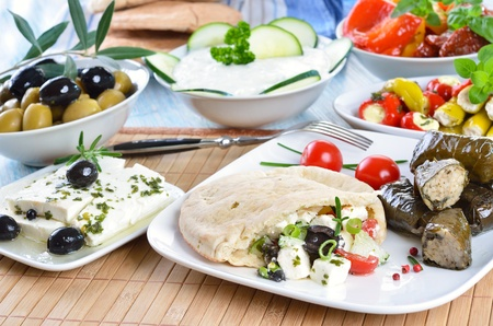 tzatziki: Greek appetizers
