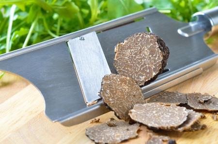 Fresh black truffles  tuber uncinatum