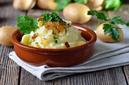 Mashed potatoes Reklamní fotografie - 12072412
